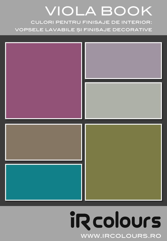 Paleta De Culori Tencuiala Decorativa.Paletare De Culori Culori Produse